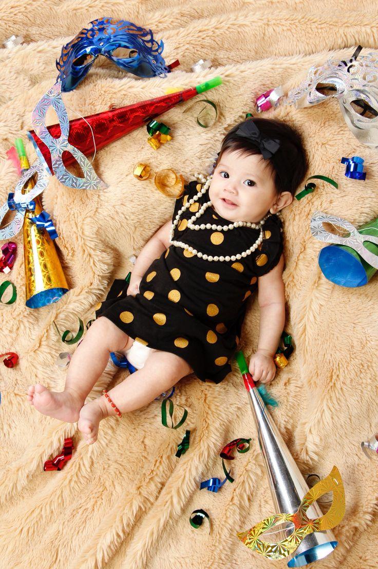 Happy New Year! #3months #baby #babylhotoshoot #camkids #BellamyLucille