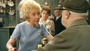 Coronation Street: Annie Walker and Uncle Albert