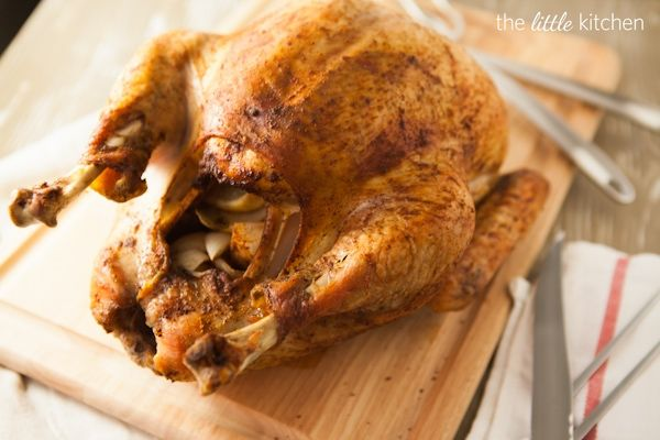Savory Herb Rub Roasted Turkey. Very close to how I have been making ...