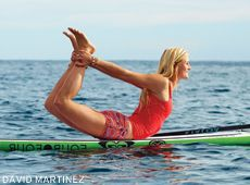 Standup paddleboard yoga brings a little fun and freedom to an otherwise earth-bound yoga practice. Try these four poses out to get started.
