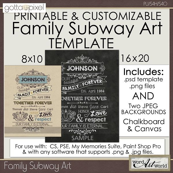 17 best images about general craft ideas on pinterest lyrics hand painted and diy photo for Subway art template