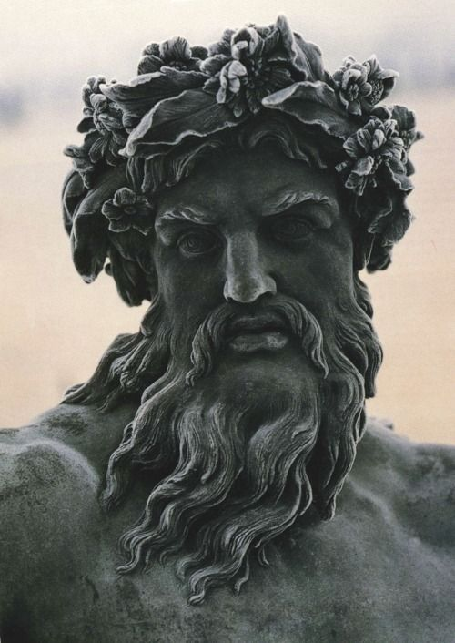 Statue of Zeus at Versailles http://optimusx.tumblr.com/post/60913953890/wasbella102-statue-of-zeus-at-versailles
