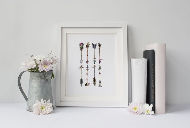 A personal favourite from my Etsy shop https://www.etsy.com/au/listing/511280917/boho-arrows-digital-print-watercolour
