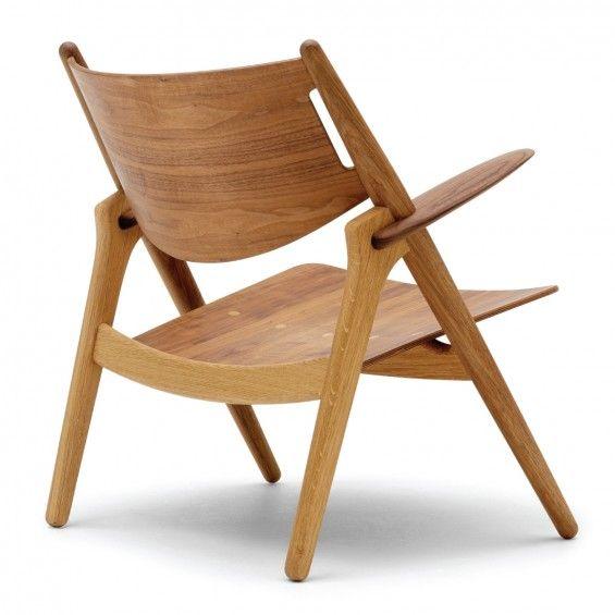 CH28 Loungechair Stoel - Carl Hansen | MisterDesign