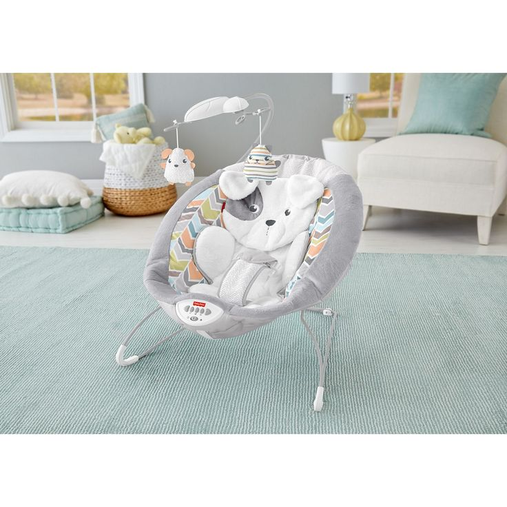 Fisher-Price Sweet Snugapuppy Dreams Deluxe Bouncer | DTH04 | Fisher-Price