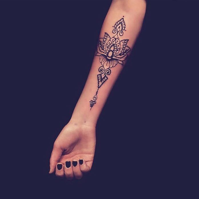 Check out this lovely tattoo for men or women ! I love ink ! I'm also a tattooed girl !