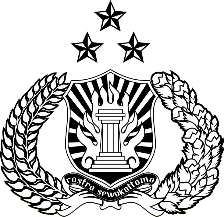 Desain Logo: Lambang Polri (Polisi Republik Indonesia)