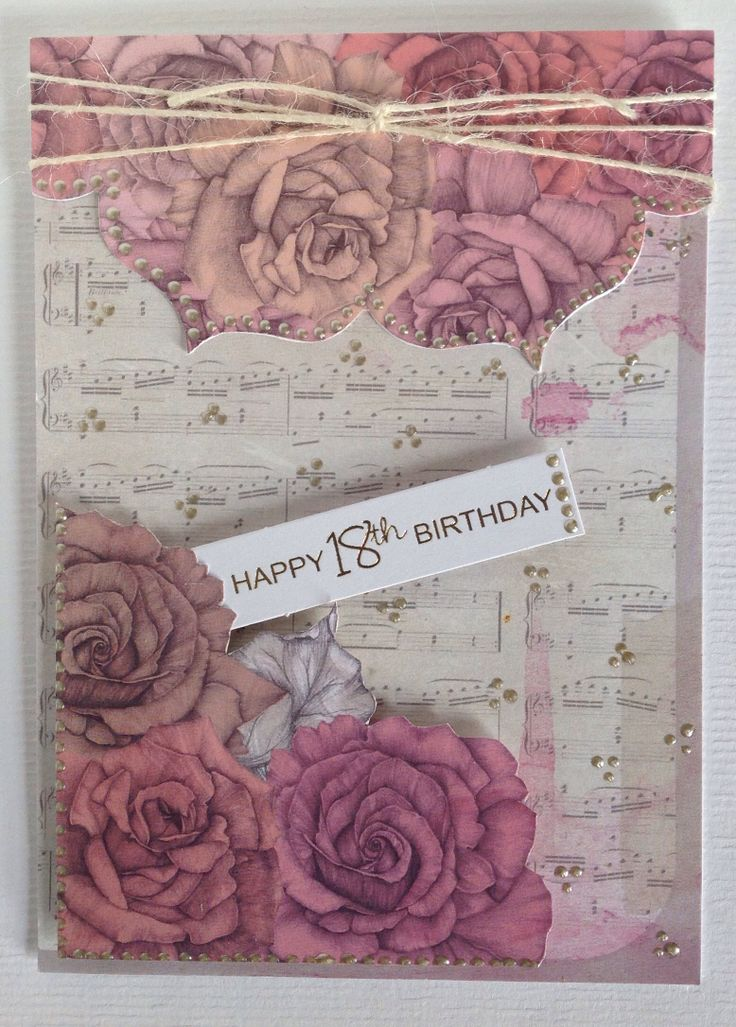 Card designed by Julie Hickey using Country Garden papers and Candi.