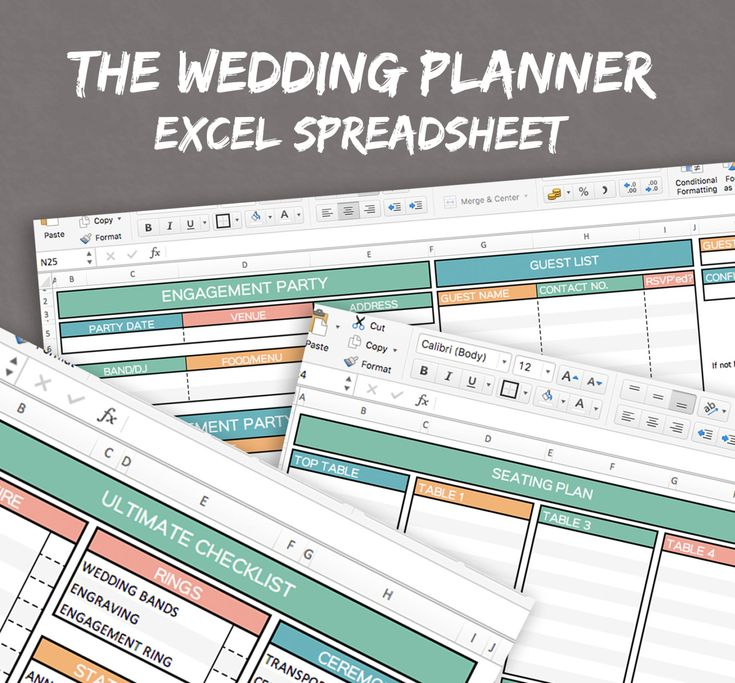 12 best Wedding images on Pinterest Wedding budget templates - contact list excel template