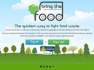 Bring the food – un'app per le donazioni di eccedenze alimentari