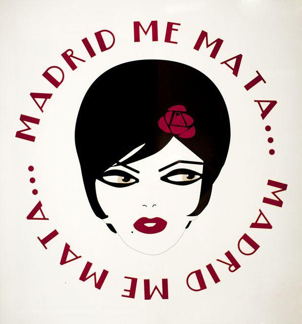 """Madrid me mata"", el lema de la movida madrileña"