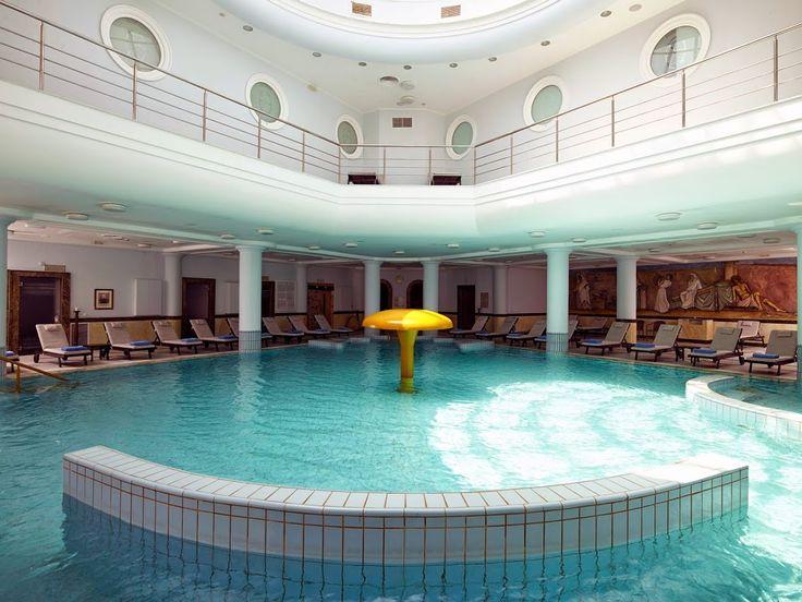 Thermae Sylla's indoor swimming pool consisted of 100% medicinal water at 30-32ºC.