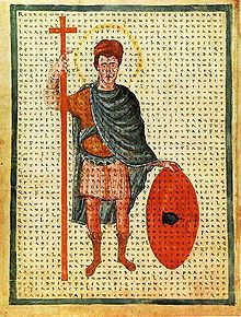 Louis the Pious (778 – 20 June 840), also called the Fair, and the Debonaire,[1] was the King of Aquitaine from 781. He was also King of the Franks and co-Emperor (as Louis I) with his father, Charlemagne, from 813.