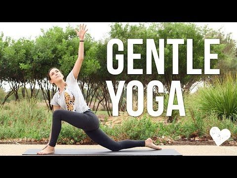 Gentle Yoga - 25 Minute Gentle Yoga Sequence - YouTube. Very enjoyable!
