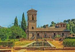 Alhambra, España, Paisaje, Escénico, Hdr