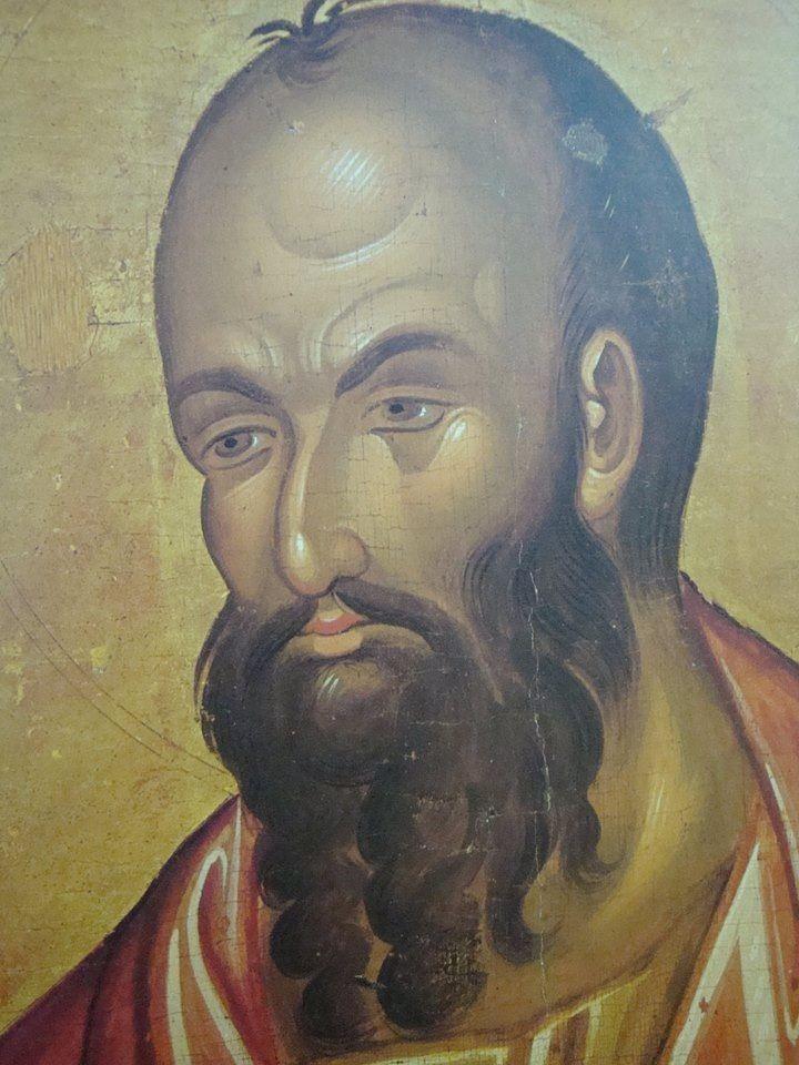 St. Paul icon. Byzantine.
