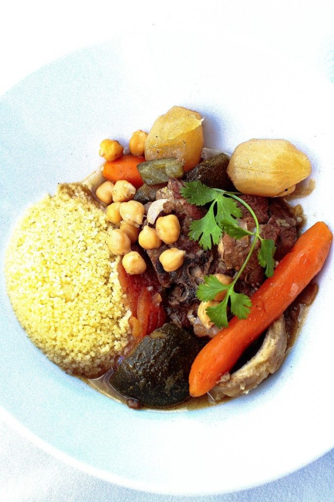 Couscous aux sept légumes façon Ducasse - Quatre Saisons Au Jardin