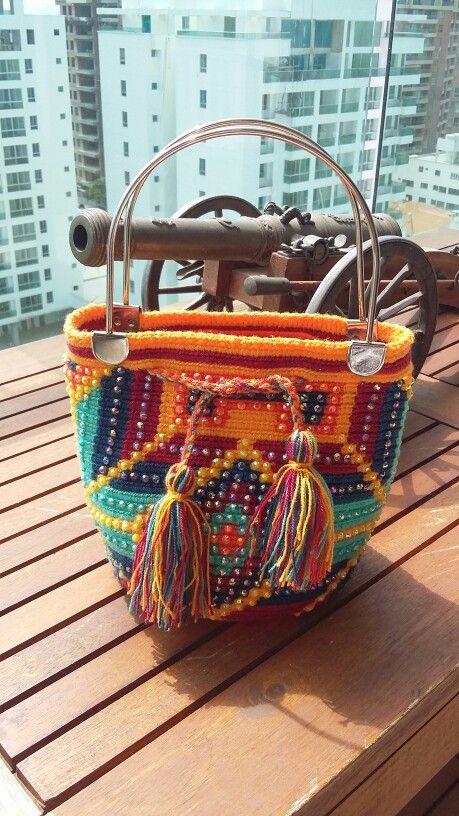 Mochila de mano Wayuu
