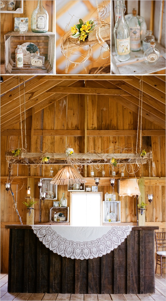 barn yard wedding