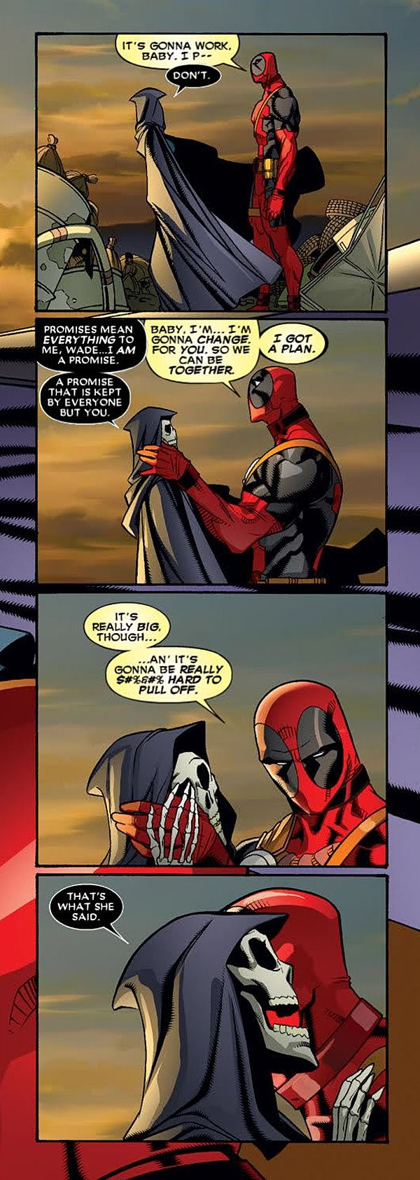 Deadpool and Lady Death Comic http://geekxgirls.com/article.php?ID=9554