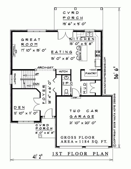 Two Storey House Plan # TS392 - Nauta Home Designs