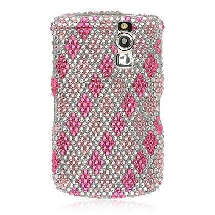 Blackberry Curve 8330 Pink Diagonal Plaid Diamond Bling 2 Piece Hard Case Cover by DW, http://www.amazon.com/dp/B004VHF2KG/ref=cm_sw_r_pi_dp_lOUYqb022NQVS