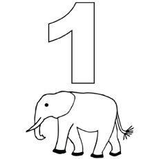 Planning to teach your kid to count numbers? Then coloring the numbers is one of the best way to do it. Here are 21 fun free printable number coloring pages