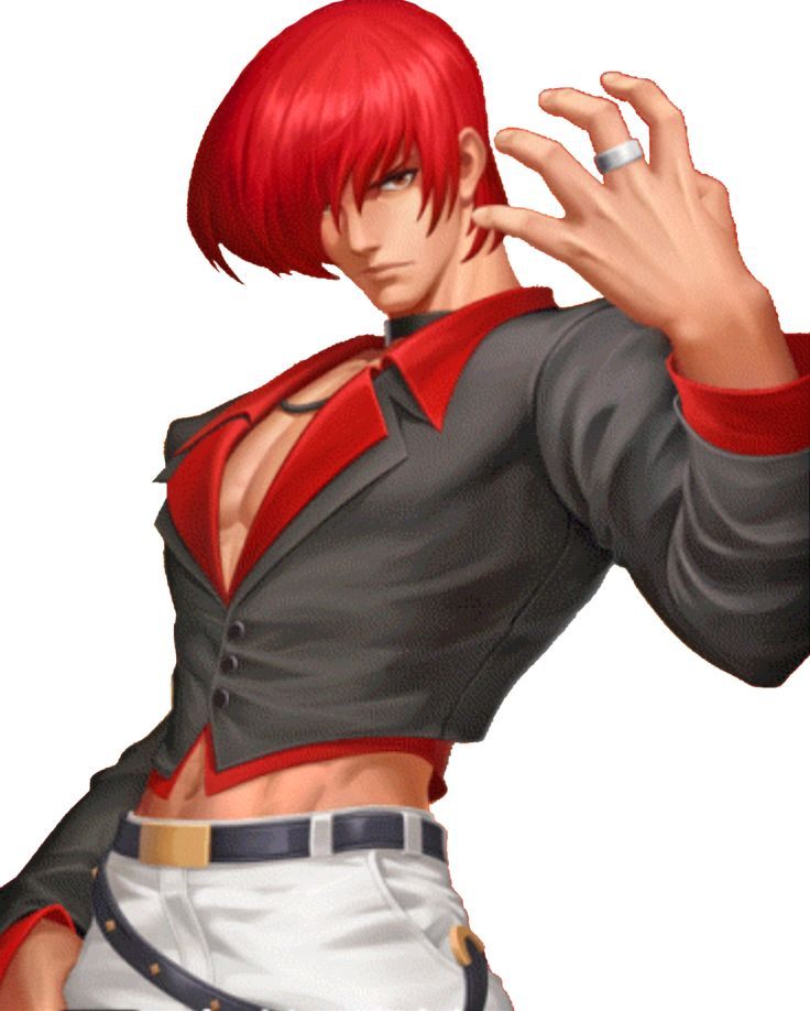 King of Fighters 98 UM OL Iori XII by hes6789