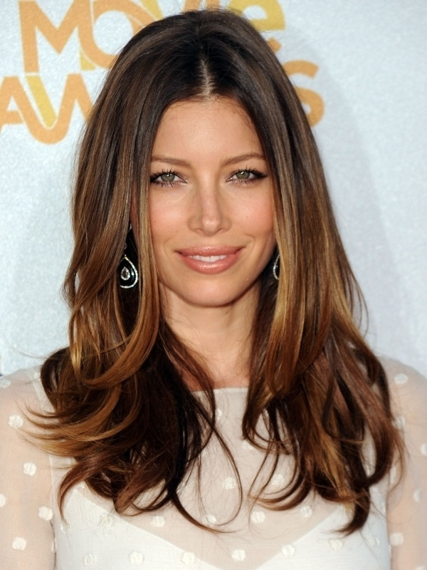 Highlights for brunettes