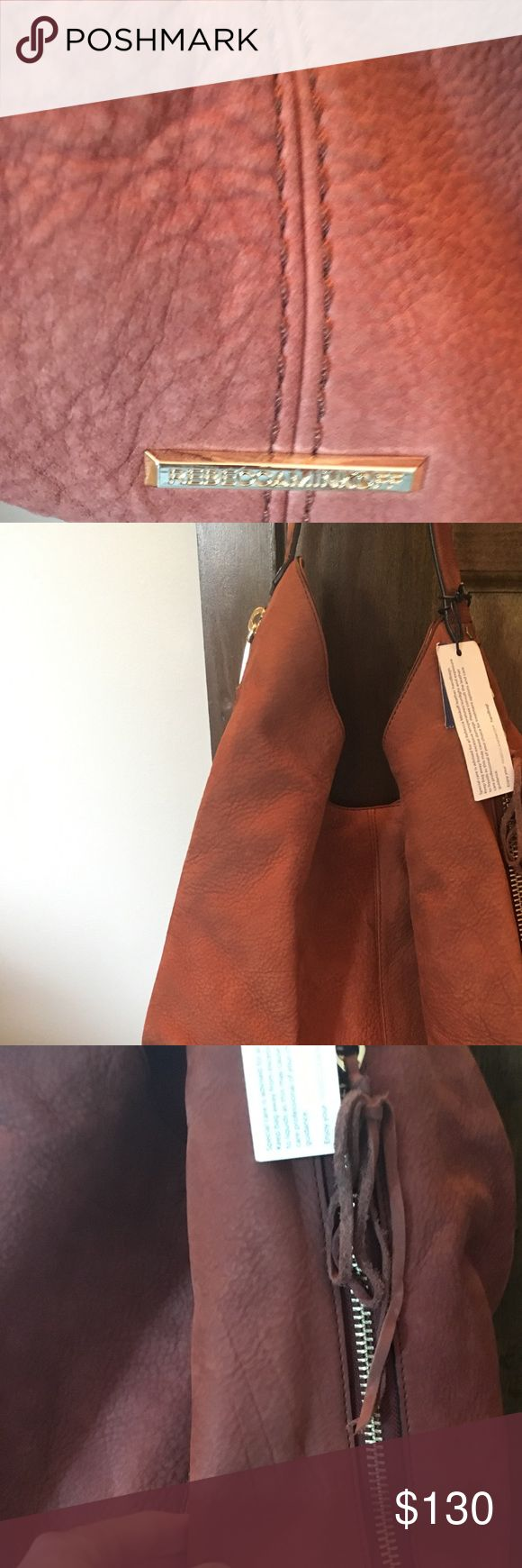 Rebecca minkoff  Bryn hobo- new with tags Brand new- tags still attached. Beautiful chestnut brown- perfect for fall. I got this as a gift and I already have this style in a different color. Retails at Nordstrom for $295. I do not trade. Reasonable offers considered. Rebecca Minkoff Bags Hobos