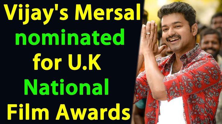 Vijay's Mersal nominated for UK National Film Awards | Cinema News | Cin...