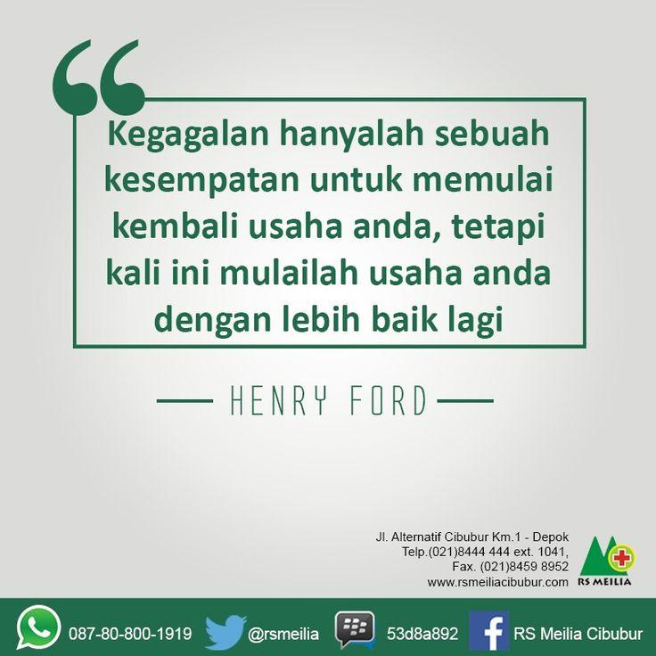 Quotes of the day #rsmeilia #kutipan #motivasi #gagal #sukses #terbaik #cibubur #depok #cileungsi #bekasi #bogor #jakarta
