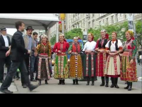 Hungarian dancers in NYC