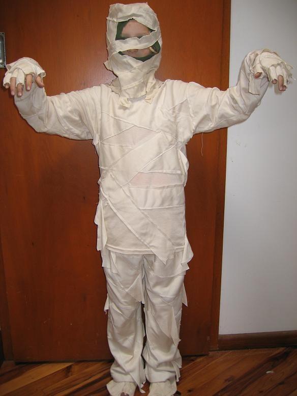 Mummy costume size 8-10