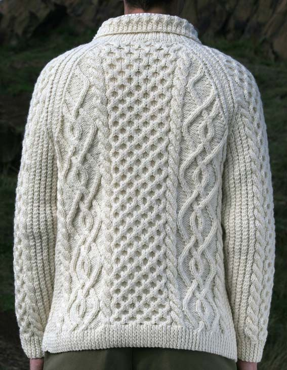 Handmade Irish Wool Sweaters