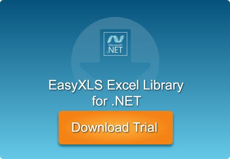 Download and evaluate EasyXLS™ Excel library for .NET free for 30 days!