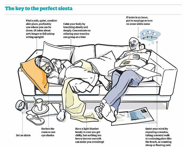 7 Simple Productivity Tips You Can Apply Today, Backed by Science. No. 4: Take the perfect nap, every day!