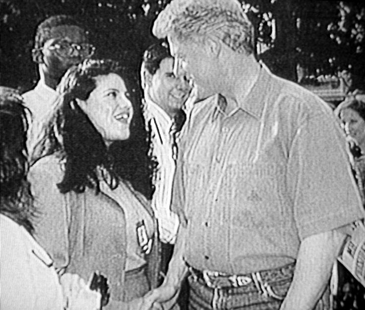 Monica Lewinsky et Bill Clinton - Photo KCS