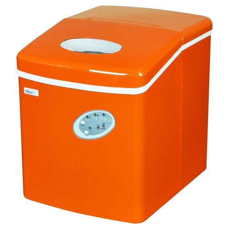 Newair 28lb Portable Ice Maker Black Ai 100 Portable Ice Maker