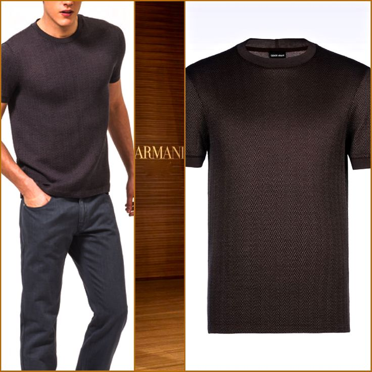 Armani JERSEY T-SHIRT perfect for any occasion. . . #travel #yacht #wine #tech #beauty #art #entertainment #fashion #shopping #personalstyle #Style #fashionaccessories #Authentic  #stylish #outfitoftheday #luxure #luxurios