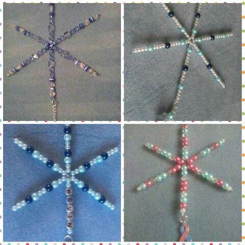 Snowflakes I make x £6