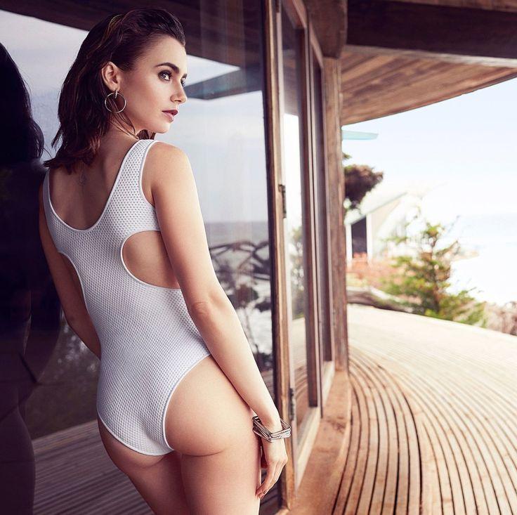 Lily Collins ❤️ Shape Magazine July 2017