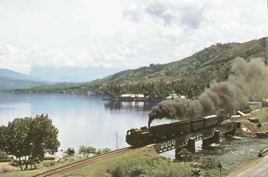 Lake Singkarak, 1973.