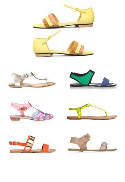 15 x zomerse sandalen