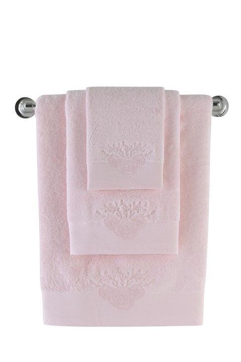 Chłonne ręczniki MELIS wykonane są z czesanej bawełny z ochroną antybakteryjną. Są bardzo miękkie i przyjemne w dotyku