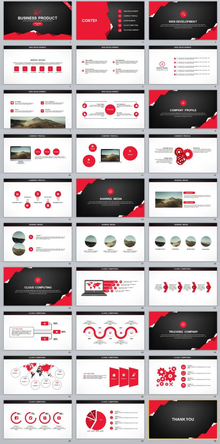 30+ Creative business Product plan PowerPoint template