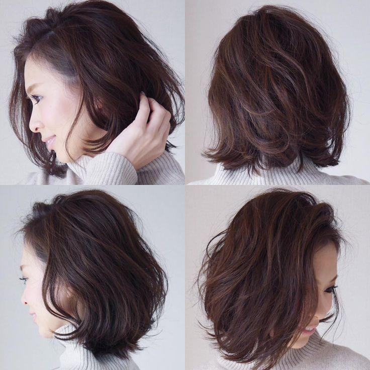 hair cut ✂︎✂︎✂︎ . 先週少し髪を切りました♡ 結べる長さに残してます!! . カラーは7トーンのグリーン系のアッシュに、 12トーンのハイライトを細めに入れてます♪♪ . カットは毛先は重めで今までよりレイヤーを多めに入れてます♪♪ . セットは全体をリバース巻とフォワード巻のMIX巻です。結構ランダムに巻いてます❢❢ #haircut #hairstyle #ヘアスタイル#ヘアカット#ボブ#MIX巻#アッシュ#ママ雑誌sakura#mamagirl