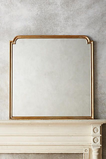 """Anthropologie - Aperture Mirror in Gold. 40.25""""H x 40""""W.    $368 retail"""