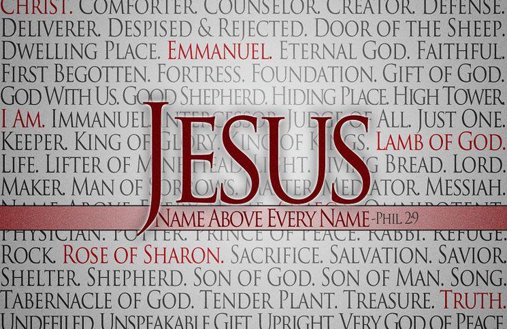 Библия говорит:«И если чего попросите у Отца во имя Мое, то сделаю, да прославится Отец в Сыне. Если чего попросите во имя Мое, Я то сделаю.»(Евангелие от Иоанна 14:13,14). Бог хочет отвечать на ваши молитвы, но Он также желает, чтобы вы просили во имя Иисуса.  Что же столь особенного в имени Ии