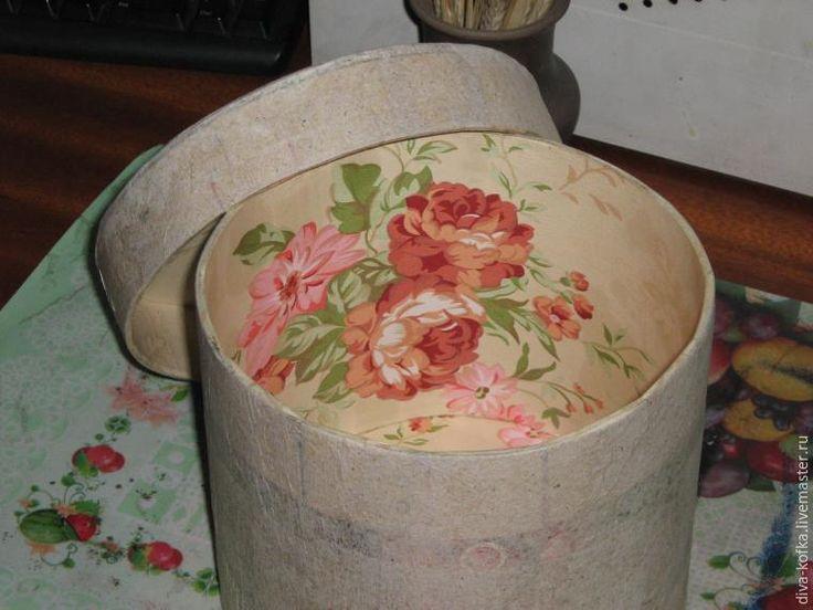 Как сделать круглую коробочку любого размера - Ярмарка Мастеров - ручная работа, handmade